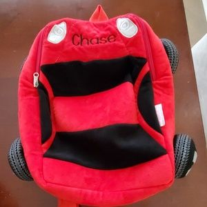 Chase Racecar backpack